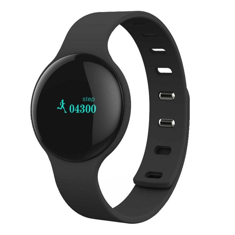 ALLOYSEED <font><b>Bluetooth</b></font> 4.0 Alarm Sport Smart <font><b>Band</b></font> Sleep Tracker Record Smart Bracelet Anti-lost Smartband For Android iphone APP