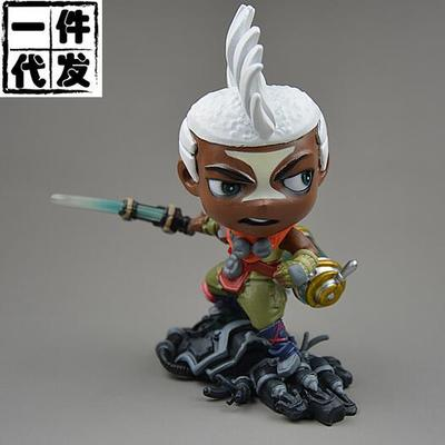 NEW hot 13cm The Boy Who Shattered Time  Ekko action figure toys collection doll Christmas gift no box irina borisova lonely place america novel in stories