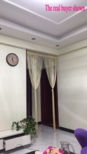 3×2.6m String Curtain Shiny Tassel Line Curtains Window Door Divider Drape Living Room Decor Valance
