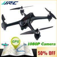 JJRC X8 Радиоуправляемый Дрон с камера 1080 P 5 г Wi Fi FPV системы Профессиональный беспилотник gps позиционирования Quadcopter бесщеточный двигатель 18 ми