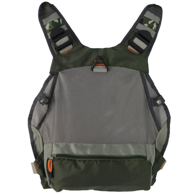 New men's Adjustable Fly Fishing Vest  outdoor hunting Packs bag  Fishing Mesh Vest Fishing Tackle bag Jacket clothes