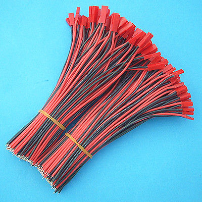 100 Pairs 18cm JST Connectors 22awg 3135 Silicone wire For RC Li-Po Battery dts24f19 35bc [ circular mil spec connectors dts 66c 66 22d skt r] mr li