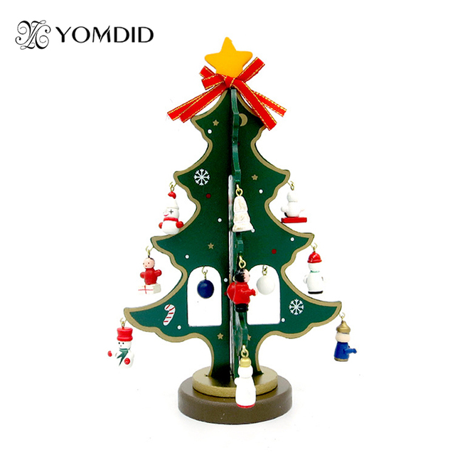 Wooden Christmas Tree Diy Christmas Small Gifts Festival Party ...