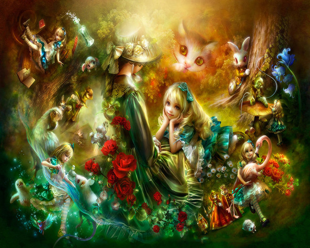 2016 NEW DIY Diamond Painting  Beautiful Fairy Girl Set For Embroidery Cross Stitch Crystal Knit Art Craft Home decor