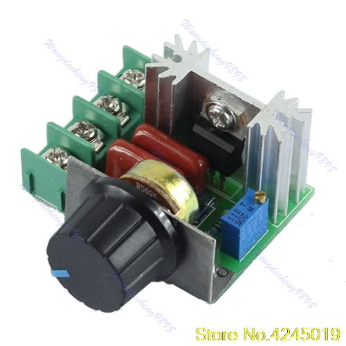 New High Quality AC 220V 2000W SCR Voltage Regulator Dimming Speed Controller Thermostat Dimmers