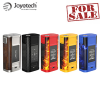 Original Joyetech Cuboid Tap Box Mod with OLED display 228W Battery Kit powered by 18650 Electronic Cigarette Big Sale!
