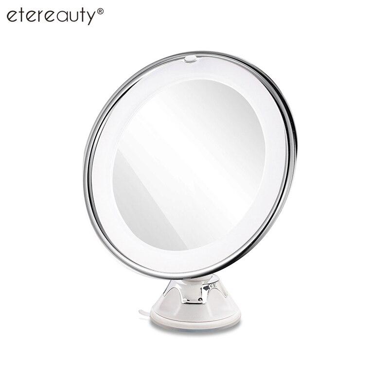 3x 10x Magnifying Round Mirror Free