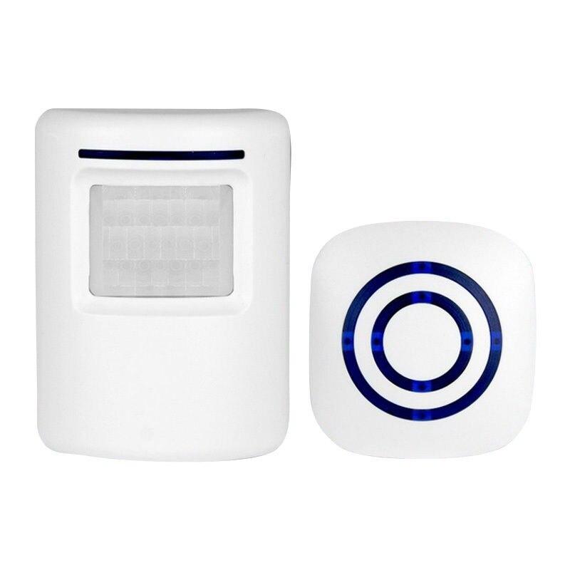 Impermeable timbre inalámbrico Digital con Sensor PIR Detector infrarrojo inicio seguridad timbre alarma inducción timbre Mayitr