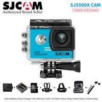 Free Shipping SJCAM SJ5000X Elite WiFi 4K 24fps 2K 30fps Gyro Sports DV 2 0 LCD