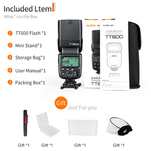 Image 2 - Godox TT600 2.4G Wireless Camera Flash HSS Speedlite for Canon Nikon Sony Pentax Olympus DSLR