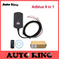 Support euro 4&5 New Adblue 9in1 New Arrival 9 in 1 AdBlue Emulator with SCR&NOx sensor Adblue OBD2 9 in 1 With DHL free 5/PCS