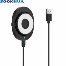 SOONHUA Mini Wireless Car Phone Charger Qi Charging Pad Universal Firm Suction Holder Fast Charging Dock Station For iPhone X
