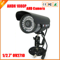 AHD Camera Outdoor Bullet Surveillance Camera AHDH FULL HD 1080P AHD Camera 1/2.7'' OV2710 Sensor With IR Cut Filter