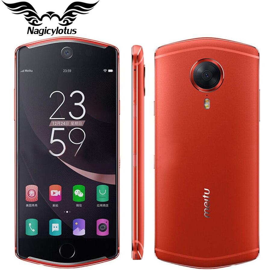 2017 New Meitu T8 4G LTE Mobile Phone 5 2inch 4GB 128GB MT6797 Octa Core 2