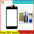 "Tools+Original New 4.7"" Touch Screen for Micromax A106 Glass Capacitive sensor for Micromax A106 Touch Screen panel Black"