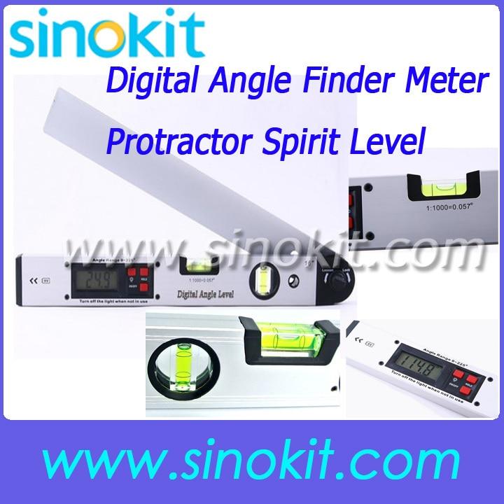 ФОТО Digital Angle Finder Meter Protractor Spirit Level