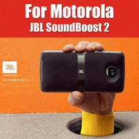 SoundBoost 2 Speaker Moto Mods 100% Genuine Original Style shells For Moto Z3 Z2 Force Play Magnetic Battery Back Cover