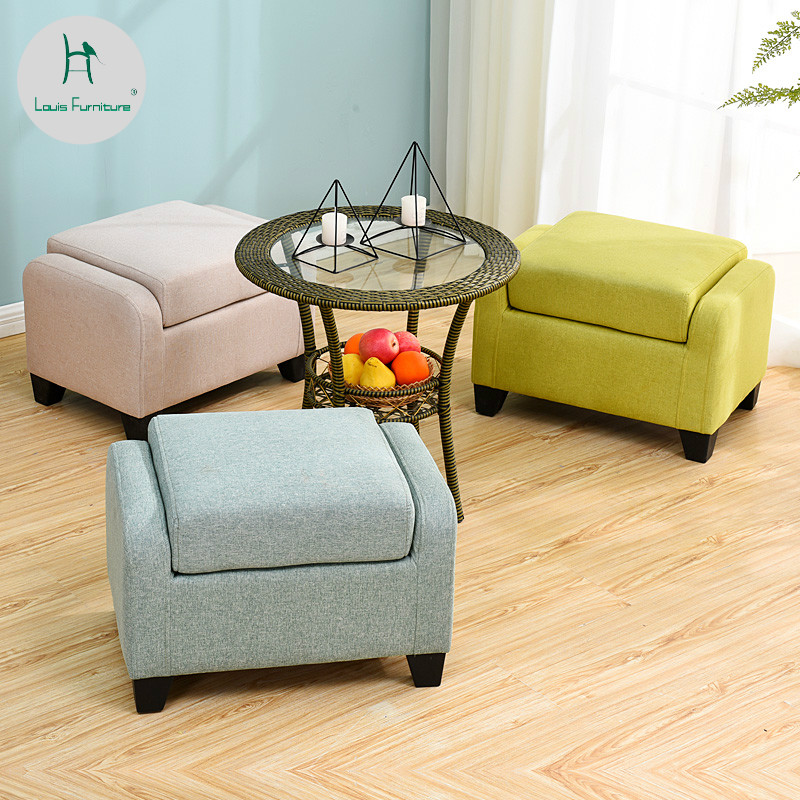 Superb Us 64 0 Louis Fashion Stools Ottomans Sofa Side Creative Personality Living Room Small Apartment Soft Seat Simple Modern Household In Stools Ibusinesslaw Wood Chair Design Ideas Ibusinesslaworg