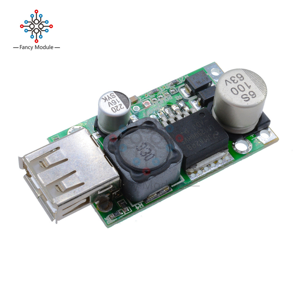 LM2596HV DC-DC Step Down Buck 5V Converter Module 9V 12V 24V 36V 48V to 5V 3A USB Charger dc 6 24v 12v 24v to 5v usb output charger step down power module mini dc dc step up boost module power adjustable buck converter