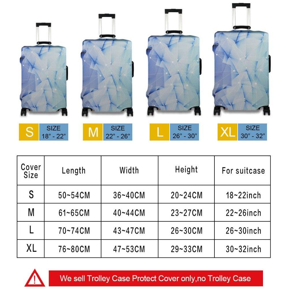 Djurkattmönster Elastiskt bagageskyddskåpa Dragkedja för 18-30 - Resetillbehör - Foto 6