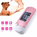 Speak FHR number LCD 2.5 Mhz Fetal Doppler Heart Monitor with earphone, recording cable, gel  Home Using +2 earphone whole