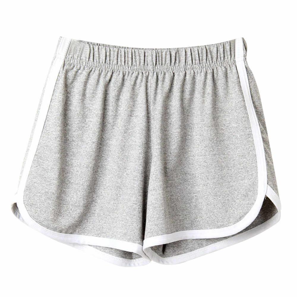 Pantalones Cortos Deportivos A La Moda Para Mujer Para Playa Correr Fitness 2019 Pantalones Cortos Aliexpress