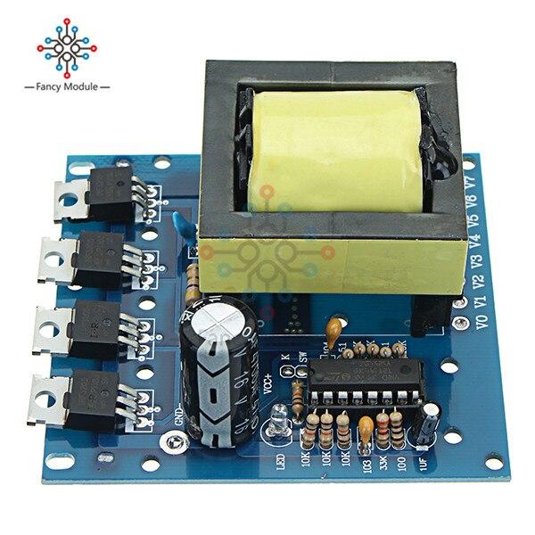 500 W Placa do Inversor Boost Transformador de Potência DC 12 V A 220 V AC Conversor de Carro Módulo