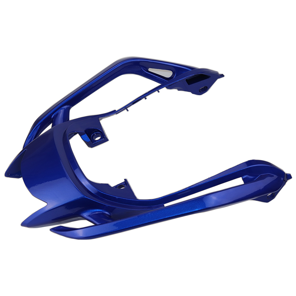 Blue Tempered Plastic Motorcycle Rear Tail Section Seat Cowl Fairing For Yamaha FZ6N FZ6S FZ-6N FZ-6S for yamaha fz6 fz600 2004 2010 2005 2006 2008 2009 fz6n fz6s fz 6s fz 6n fz 600 motorcycle aluminium radiator cooling cooler