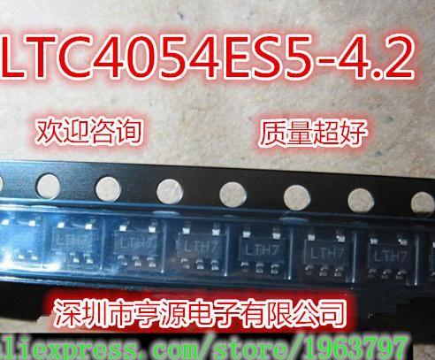 10pcs/lot LTC4054 LTC4054LES5-4.2 LTH7 SOT-23 In Stock