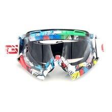 Новое Поступление Мотоциклов Goggle Защитные Спорта Off Road Прозрачные Линзы Óculos очки для Мотокросса Очки для Мотоциклов Dirt Bike