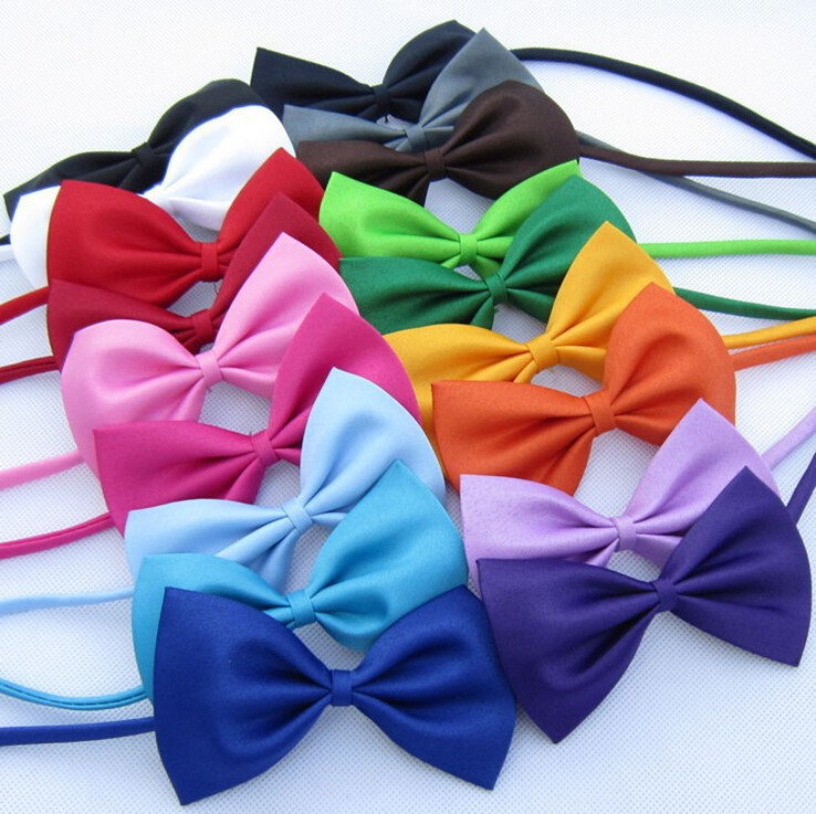 1 piece Adjustable Dog Cat bow tie neck tie pet dog bow tie puppy bows pet bow tie  different colors supply 23