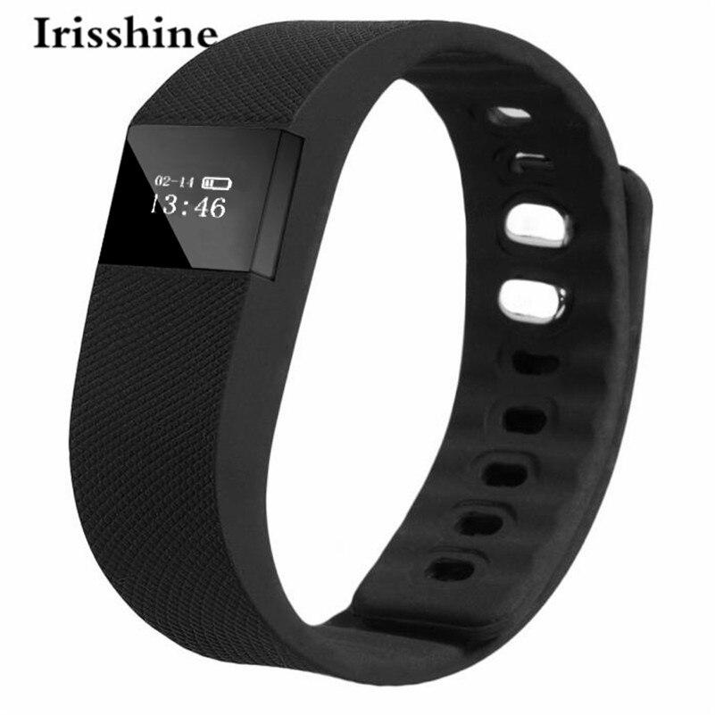 Irisshine Watch Man C6 Unisex watch Smart Wrist Band Sleep Sports Fitness Activity Tracker Pedometer Bracelet