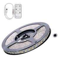 Flexible 5M DC 12V 72W SMD 2835*600 Leds IP65 Waterproof LED Strip Band Lights + Remote Controller|waterproof led|led ip65waterproof led strip -