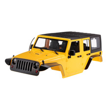 Unassembled 12.3inch 313mm Wheelbase Body Car Shell for 1/10 RC Crawler Axial SCX10 & SCX10 II 90046 90047 Jeep Wrangler Part 1 10 rc scale truck climbing car hard body shell for wrangler jeep model toys accessories