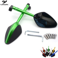 CNC Side Mirror Motorbike Mirrors Scooter Motorcycle Mirror For KTM Duke 390 200 Ducati Monster 696