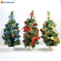 LumiParty Mini Size Christmas Xmas Tree Festival Hotel Home Office Party Ornaments Decoration Gift 35