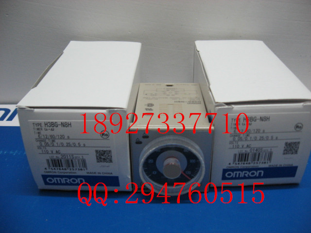 [ZOB] New original authentic OMRON Omron relay H3BG-N8H AC110V [zob] new original omron omron beam photoelectric switch e3jk tr12 c 2m 2pcs lot