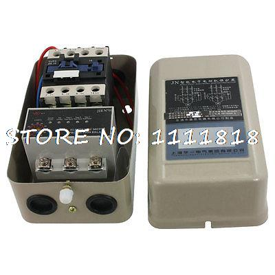 5-65A Three Phase Motor Protector Relay 5.5KW 24V + 4 NO AC Contactor