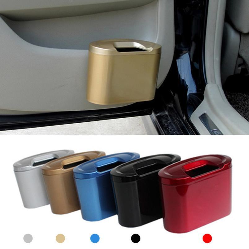 JY 29 Mosunx Business 2016 Hot Selling Mini Vehicle Auto Car Garbage Dust Case Holder Box Bin Trash Rubbish Can B