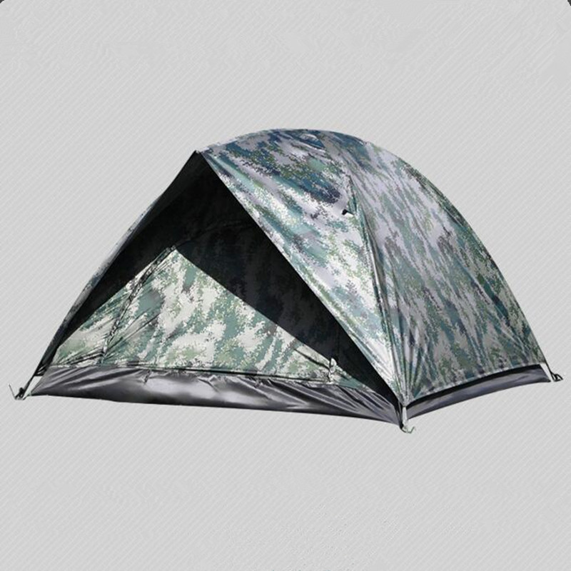 Outdoor Camping Camouflage Military Tent Beach Fishing Hunting Tente Carpas 3-4 People Teepee