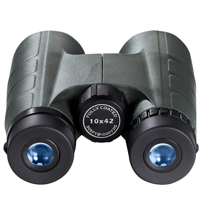 10 x 42 professional zoom optical hunting binoculars wide angle camping telescope with tripod interface professional 72mm 0 45x wide angle
