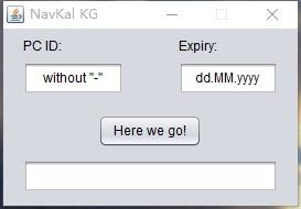 Navkal электронный Управление модуль (ECM) программирования Keygen