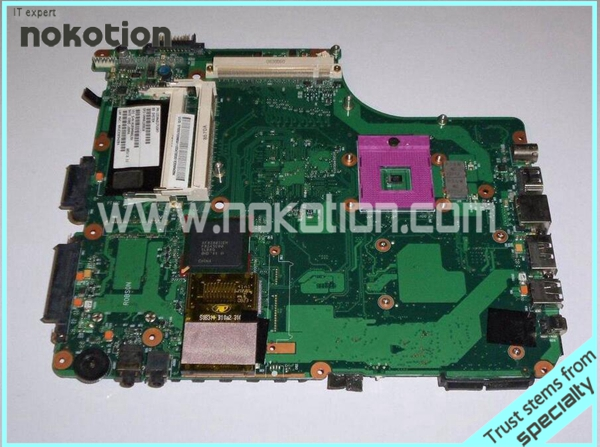NOKOTION LAPTOP MOTHERBOARD FOR TOSHIBA Satellite A300 A305 Mainboard V000125930 6050A2171501 motherboard for toshiba satellite t130 mainboard a000061400 31bu3mb00b0 bu3 100% tsted good