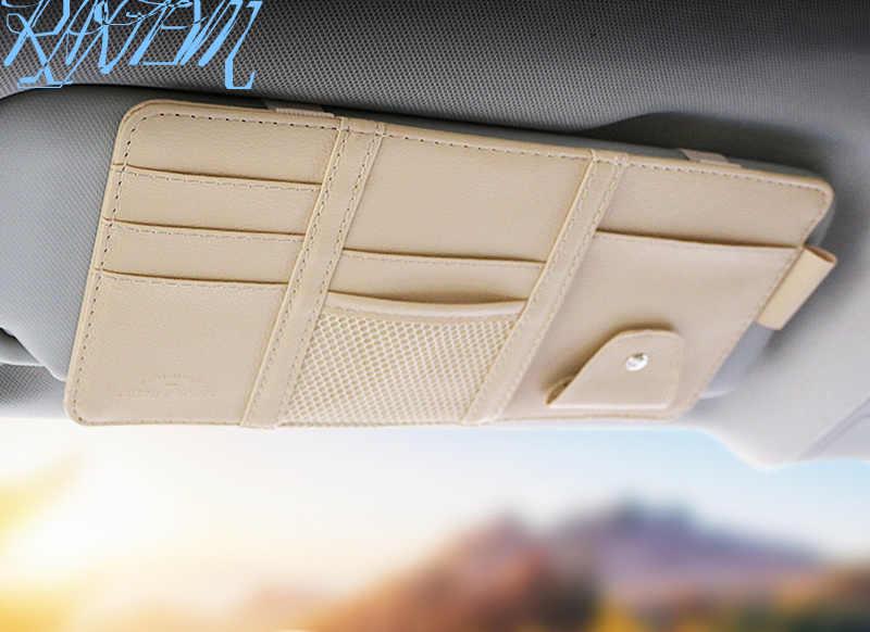 Pare-soleil universel clip de rangement pour Volvo S40 S60 S80 S90 V40 V60 V70 V90 XC60 XC70 XC90