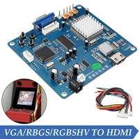 Arcade Game Video Output Converter Board VGA RGB CGA EGA YUV TO HDMI HD Jamma Arcade