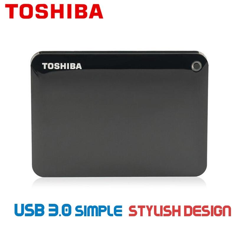 Toshiba Hard Disk Portable V8 1TB 2TB Free shipping Laptops External Hard Drive 3TB Disque dur