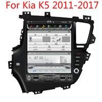Wekeao touch Экран 10,4 Car аудио мультимедиа плеер для Kia K5 Optima Тесла Стиль Авто AM/FM стерео радио видео MP4 gps плеер