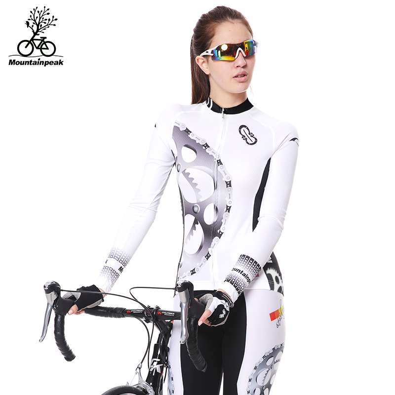 Mountainpeak Spring and Autumn Wear Long Sleeved Suit Men and Women In Summer Cycling Pants Bike Clothing Mountain Car Equipment women s cycling shorts cycling mountain bike cycling equipment female spring autumn breathable wicking silicone skirt