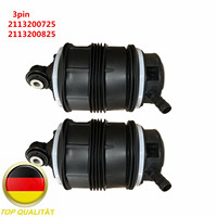 AP02 Pair 3pins Rear Air Spring bag For Mercedes E Class W211 S211 E320 E500 E350 2113200725 2113200825 2113201325