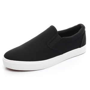 Image 4 - YEINSHAARS New Canvas Driving Shoes Men Green Black Yellow White Vulcanized Lazy Canvas Shoes Mens Designer Sneakers Fashion Men